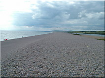 SY6774 : Chesil Beach by Ken Oliver