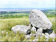 SS4990 : Maen Ceti / Arthur's Stone by Colin Smith