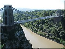ST5673 : The Clifton Suspension Bridge crosses the Avon Gorge by Sarah Charlesworth