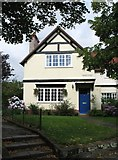 SJ3384 : House at Port Sunlight (at Windy Bank) by Gerald Massey