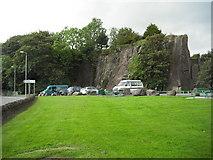 NS7177 : Car park Auchinstarry quarry by Jim Smillie