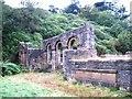SK0074 : The ruin of Errwood Hall by Raymond Knapman