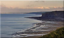 SS9168 : Coast view to Porthcawl - Nash Point by Mick Lobb