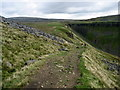 NY7325 : Pennine Way and High Cup by Chris Heaton