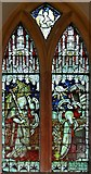 TM0099 : St Peter, Little Ellingham, Norfolk - Window by John Salmon