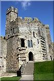 SH4762 : The North East Tower of Caernarfon Castle by Jeff Buck