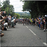 TQ7237 : Tour De France 2007, High Street, Goudhurst by Oast House Archive