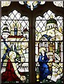 TM3898 : St Gregory's Church, Heckingham, Norfolk - Window by John Salmon