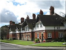 SJ3384 : Houses at Port Sunlight (Riverside) by Gerald Massey