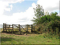 TM3898 : Kissing gate on the Wherryman's Way by Evelyn Simak