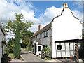 TM3798 : Cottages at Heckingham Holes by Evelyn Simak