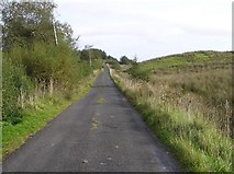 G8933 : Road at Meenymore by Kenneth  Allen