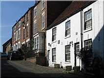 TA1181 : Filey - terrace on Church Street by Dave Bevis