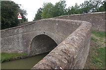 SP7155 : Turnover Bridge, near Gayton Junction by Stephen McKay