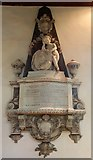 TL7204 : St Mary the Virgin, Great Baddow, Essex - Wall monument by John Salmon