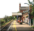 TG3608 : Lingwood Railway Station by Evelyn Simak
