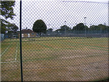 TL7205 : Great Baddow Tennis Courts by Adrian Cable