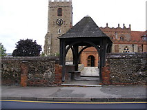 TL7204 : St.Mary's Church  Lych Gate & Tower by Adrian Cable
