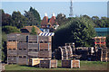 TR0956 : Apple Boxes at Nickle Farm by Oast House Archive