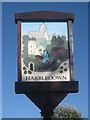 TR1258 : Harbledown Village Sign by Oast House Archive