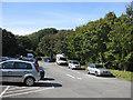SM7425 : Car park off Pit Street, St David's by Pauline E