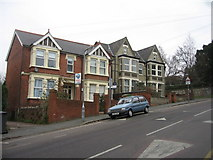 SU8693 : Houses on Priory Road by Sandy B