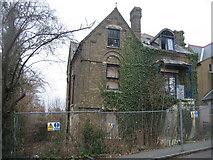 SU8693 : Ivy clad house - Priory Road by Sandy B