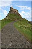 NU1341 : Lindisfarne Castle by Mark Anderson