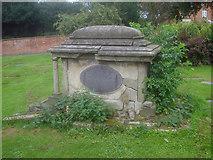 SK3616 : Tomb in St Helen's churchyard by Trevor Rickard