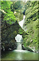 SX0888 : Waterfall at St Nectan's Glen by Andrew Hackney