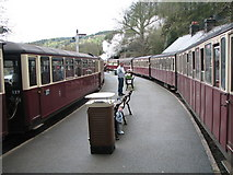 SH6441 : Busy time at Tan-y-Bwlch by K  A