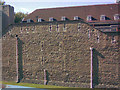 TQ3380 : Close up of the wall detail on the Tower of London by Robert Lamb