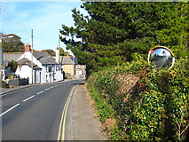 SW5638 : Churchtown Road Phillack by Rod Allday