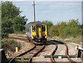 TM4796 : Unit 156422 approaching Somerleyton swing bridge by Evelyn Simak