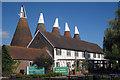 TQ6747 : Bell 1 Oast House, Beltring Hop Farm, Beltring, Kent by Oast House Archive