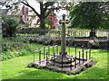 NY4056 : The grave of Dean Tait's five young daughters by Rose and Trev Clough