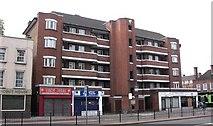TQ3479 : Millstream House, Jamaica Road, Rotherhithe, London, SE16 by Chris Lordan