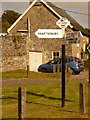 ST8522 : Shaftesbury: St. James finger-post by Chris Downer
