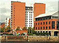 J3475 : Pilot Street apartments, Belfast (3) by Albert Bridge