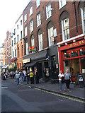 TQ2981 : Ronnie Scott's Jazz Club, Frith Street, Soho by Bill Henderson