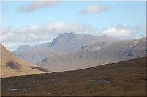 NH0068 : Slioch from the Torridon hills by Jim Barton