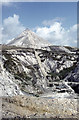 SX0652 : China clay spoil heaps in the eighties by John Rostron