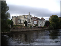 SE5947 : Bishopthorpe Palace by the Ouse by Stanley Howe
