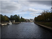 SE5952 : River Ouse through York by Stanley Howe