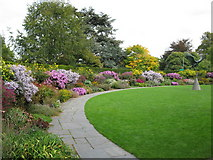 ST5673 : Herbaceous Border, Bristol Zoo by don cload