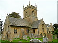 SP1039 : St. Peter's church, Willersey by Jonathan Billinger