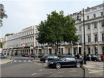 TQ2879 : South-east terrace of Belgrave Square (1) by Stephen Richards