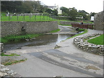 SM7525 : Ford across the River Alun in St David's by Dr Duncan Pepper