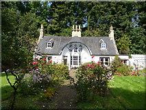NT0683 : Idyllic cottage and garden, Charlestown by kim traynor