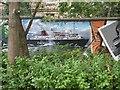 NS5766 : Mural, Kelvingrove Park. 10 - Ferry by Richard Webb